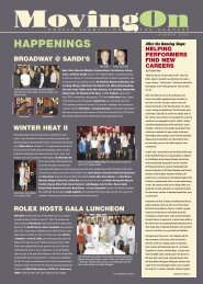 CTFD Summer 06 Newsletter - Career Transition For Dancers