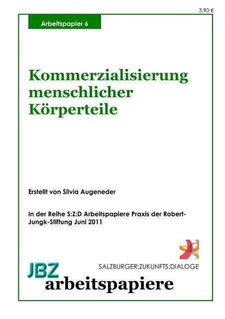 ENDTEXT JBZ AP Augeneder A5 - JBZ-Arbeitspapiere