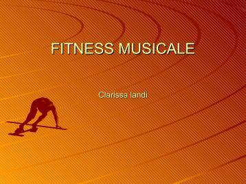 FITNESS MUSICALE Clarissa landi - WikiMotorio