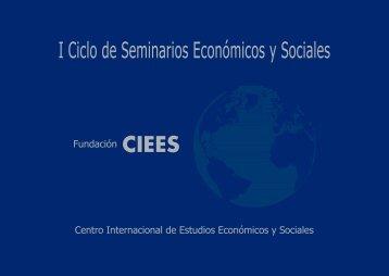I Ciclo de Seminarios Económicos y Sociales - Gref