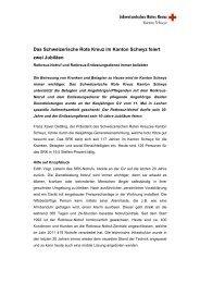 2012 Pressetext GV Jubiläen - SRK Schwyz