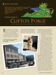 CLIFTON FORGE - Cooperative Living Magazine