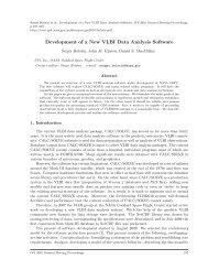 Development of a New VLBI Data Analysis Software - IVS