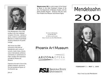 Festival Events Schedule Brochure (PDF) - ASU Jewish Studies