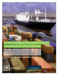 Structuring multinational inSurance programS - ACE Group