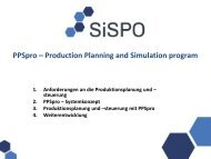 PPSpro – Produktionsplanung und –steuerung in Real Time