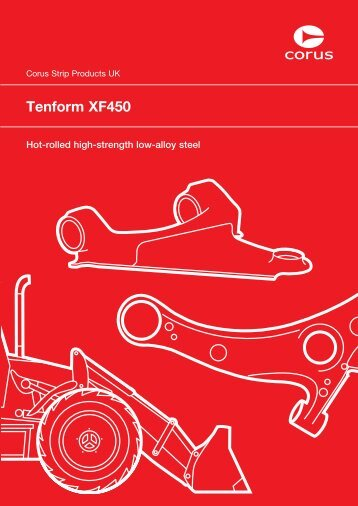 Tenform XF450 - Tata Steel in the automotive industry