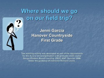 Where should we go on our field trip? - Cool Lessons Wiki