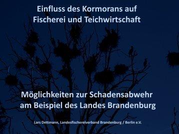 Link zum Vortrag von Lars Dettmann - Landesfischereiverband ...