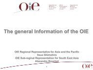 Regional Commissions - OIE Asia-Pacific