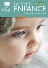 Télécharger le Guide de la Petite enfance - Saint Germain-en-Laye
