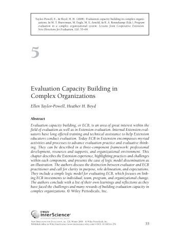 evaluating the consultation and education department Evaluating family health nursing through education and practice references allison p, locker d and feine j (1997) quality of life: a.
