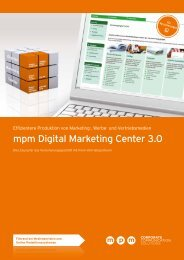 mpm Digital Marketing Center 3.0
