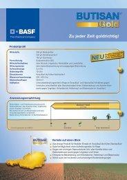 Butisan® Gold Produktblatt - BASF Pflanzenschutz Österreich