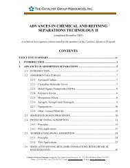 advances in chemical and refining separations technology ii