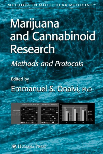 Marijuana and Cannabinoid Research - ResearchGate