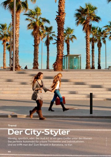 Der City-Styler - Audi Geschäftsbericht 2012