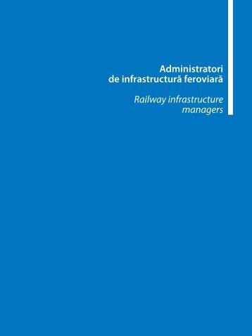 Administratori de infrastructură feroviară Railway ... - Catalog Feroviar