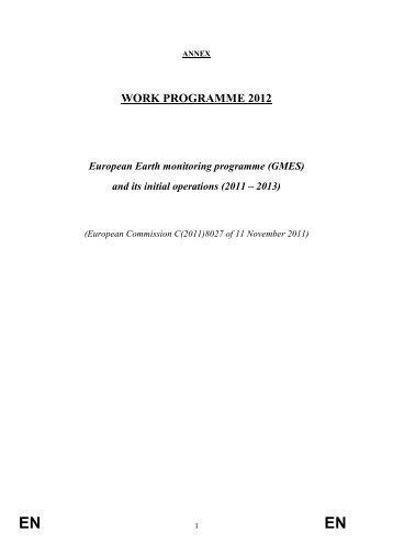 """""""Work Programme 2012"""" as PDF"""