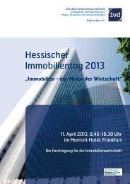Hessischer Immobilientag 2013 - Immobilienverband Deutschland ...