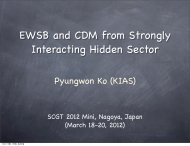 EWSB and CDM from Strongly Interacting Hidden Sector