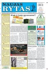 2011 m. kovo 26 d. (Nr. 23) - Naujas rytas