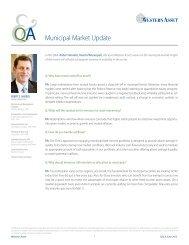 Municipal Market Update - Western Asset