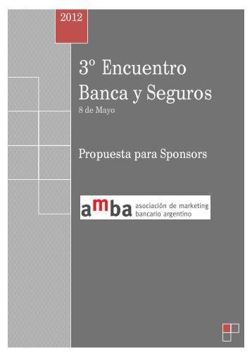 3º Encuentro Banca y Seguros - AMBA