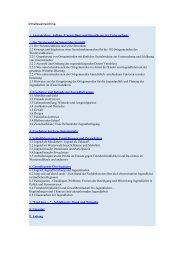 Inhaltsverzeichnis - Universität Koblenz · Landau