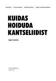KUIDAS HOIDUDA KANTSELIIDIST - koduleht.net engine