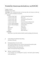 Protokoll vom 09.05.2011 - KeinDrama