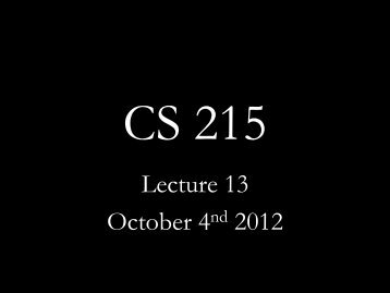 Lecture 13 October 4nd 2012 - Network Protocols Lab