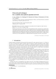 Protocols and Techniques for a Scalable Atom-Photon Quantum ...