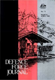 ISSUE 75 : Mar/Apr - 1989 - Australian Defence Force Journal
