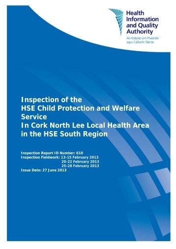 Inspection (ID 610) - hiqa.ie