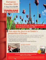 European Traveller 2013 - Calgary Co-op