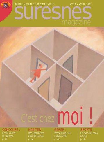 N°177 - Avril 2007 - Suresnes