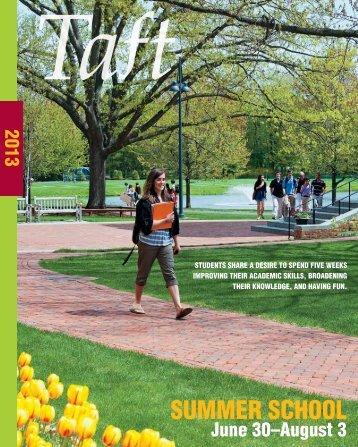 2013 Catalog - The Taft School