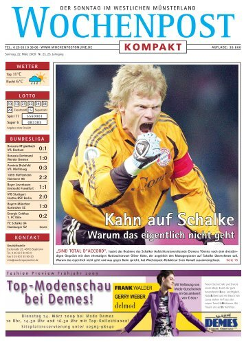 Kahn auf Schalke
