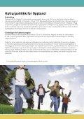 Kulturpolitikk for Oppland - Oppland fylkeskommune - Page 3