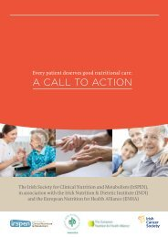 a caLL to action - Cystic Fibrosis Ireland