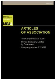 MGAA - Articles of Association adopted on 19 08 11