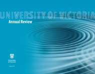 Annual Review - University of Victoria