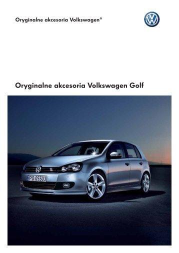 Oryginalne akcesoria Volkswagen Golf - besmarex.pl