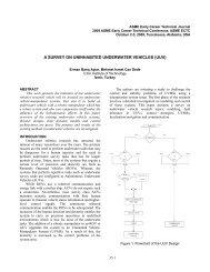 A SURVEY ON UNINHABITED UNDERWATER VEHICLES (UUV)