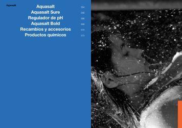 Aquasalt Aquasalt Sure Regulador de pH Aquasalt Bold ... - Ionfilter