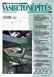 v asbetonépítés - a fib Magyar Tagozata honlapja