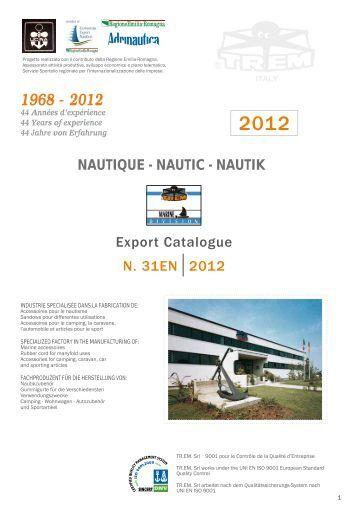 Export Catalogue N. 31EN2012 NAUTIQUE ... - Columbus Marine