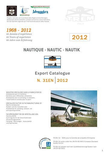 Export Catalogue N. 31EN2012 NAUTIQUE ... - Columbus Marine