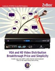 download zeevee zvbox 160 brochure - Go Electronic